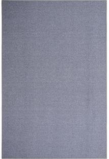 Tapete Tufting Lumiere- Azul Escuro- 400X300Cm- Tapete São Carlos
