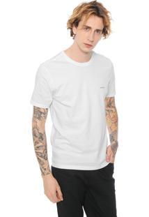 Camiseta John John Blur Skull Branca