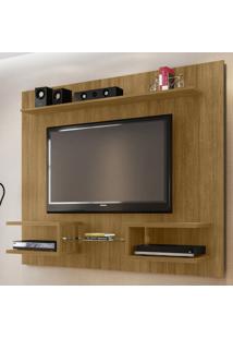 Painel Para Tv Até 55 Polegadas Atlas 6 Prateleiras 2075226 Cinamomo - Bechara Móveis