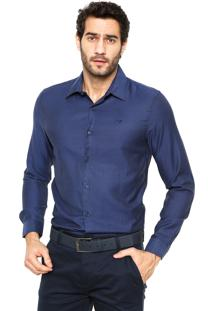 Camisa Victory Eagle Slim Fit Azul