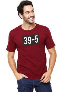 Camiseta Rgx 39-5 Bordô