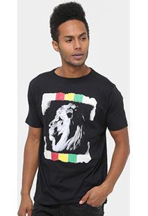 Camiseta Mood Lion Masculina - Masculino