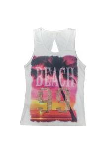 Blusa Look Jeans Nadador Off-White