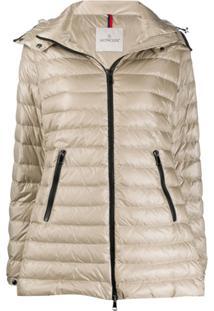 Moncler Menthe Hooded Jacket - Neutro