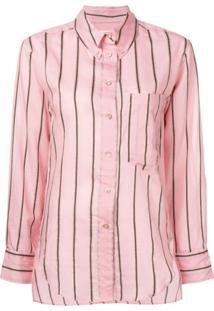 ... Isabel Marant Étoile Camisa Listrada Yvana - Rosa dafffa1c59512