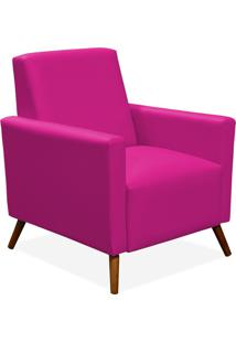 Poltrona Decorativa Lymdecor Liz Corino Pink
