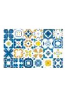 Adesivo De Azulejo - Ladrilho Hidráulico - 012Az-G