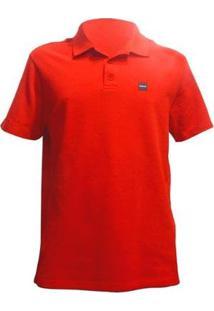 Camisa Polo Oakley Patch 2.0 - Masculino-Vermelho