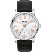 b49877e600f Relógio Montblanc Masculino Couro Preto - 114841