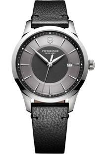 1c60fae3eba ... Relógio Victorinox Swiss Army Masculino Couro Preto - 241804