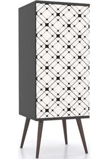 Armario Slim 1 Porta Screen 1,20 Mt (Alt) - 32464 - Sun House