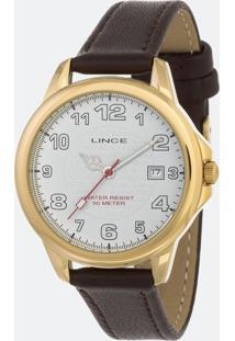 Kit Relógio Feminino Lince Lrch104L-Kw57B2Nx Analógico 5Atm + Conjunto Semijóia