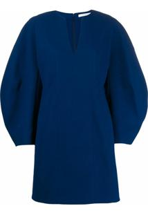 Givenchy Vestido Reto - Azul