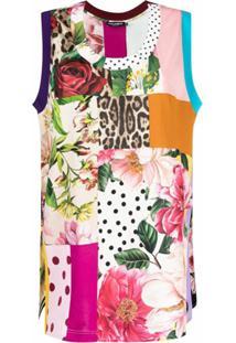 Dolce & Gabbana Blusa Com Recortes - Rosa