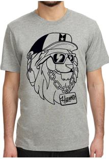 Camiseta Hypnotic The Lion King Cinza Mescla