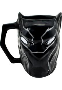 Caneca 3D Pantera Negra Marvel 450 Ml