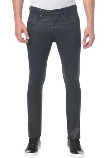 Calça Jeans Five Pockets Ckj 056 Athletic Taper - Preto Calça Jeans Five Pck Athletic Taper - Preto - 38