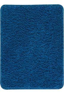 Tapete Para Banheiro- Azul- 60X45Cm- Oasisoasis
