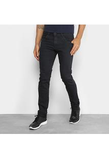 Calça Jeans Coffee Estonada Skinny Masculina - Masculino