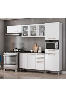 Cozinha Compacta Dandara Com Balcão 9 Pt 3 Gv Branca