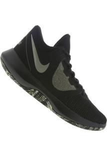 Tênis Nike Air Precision Ii - Masculino - Preto/Verde Escuro