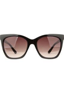 Óculos De Sol Atitude - Feminino-Preto