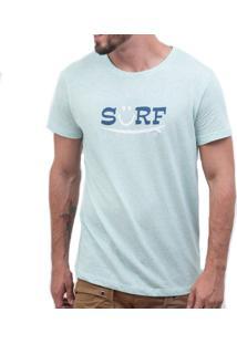 Camiseta Listrado Geriba Surf Smile Rj Azul
