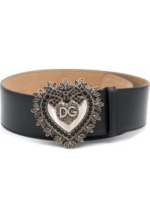 Dolce & Gabbana Cinto 'Devotion' - Preto