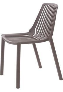 Cadeira Morgana Polipropileno Cor Cinza Medio - 29954 - Sun House