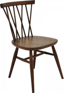 Cadeira Serena Opção De Madeira Carvalho Americano Escuro