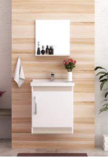 Conjunto Para Banheiro Economica Branco/Taeda Bosi - Tricae