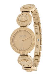 Versace Relógio Medusa - Dourado
