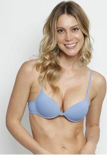 Soutien Aro & Bojo Push Up- Azul Pastel- Hopehope