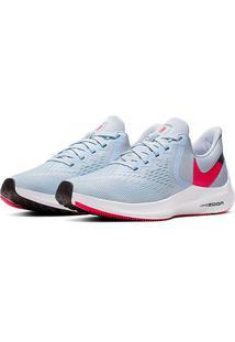 Tênis Nike Zoom Winflo 6 Feminino - Feminino-Azul+Vermelho