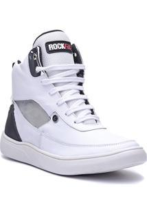 Tênis Sneaker Masculino Rockfit Lennon Branco