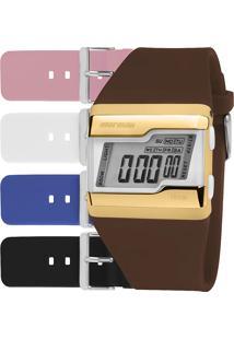 Relógio Mormaii Feminino Troca Pulseiras Fzcac/T8S