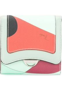 Emilio Pucci Carteira Color Block - Preto