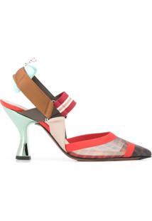 Fendi Sapato Colibri - Vermelho