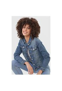 Jaqueta Jeans Only Onlnew Azul