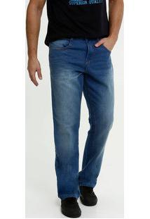 Calça Masculina Jeans Reta Biotipo