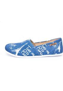 Alpargata Quality Shoes 001 Jeans Paris - Tricae