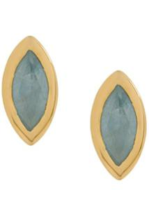 Astley Clarke Paloma Petal Earrings - Dourado