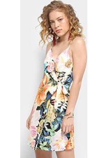 Vestido Farm Estampado Maxi Floral - Feminino-Estampado