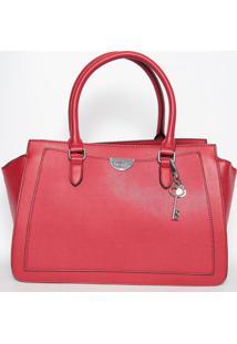 Bolsa Com Pingentes- Vermelha- 23X34X15Cm- Guessguess