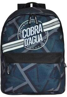 Mochila De Costas Cobra D'Água - Masculino-Cinza
