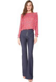 Calça Jeans Flare Essential