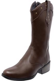 Bota Country Mega Boots 1324 Café - Tricae