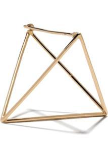 Shihara Brinco Único 'Triangle' De Ouro 18Kt - Gold
