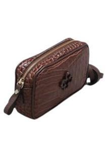 Bolsa Capodarte Shoulder Bag Croco