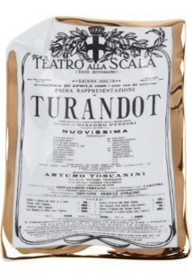 Fornasetti Cinzeiro 'Turandot' Estampado - Branco